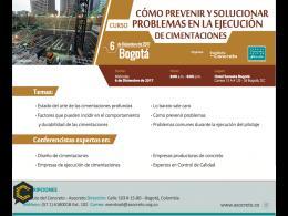 Curso: Cómo prevenir y solucionar problemas en la ejecución de cimentaciones