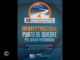 Agenda XIV Congreso nacional de infraestructura