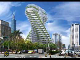 El primer edificio que descontamina el ambiente