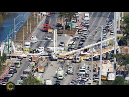 Miami: así se construyó y colapsó el puente en Florida