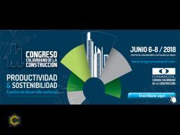CAMACOLenciende máquinas para el congreso colombiano de la construcción del 6 de junio al 8