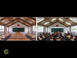 Escuelas de cartón: arquitectura y construcción al instante