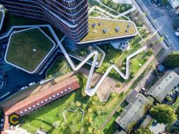 Los tejados ecológicos marcan la pauta en la construcción