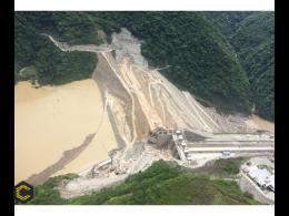 HIDROITUANGO sigue en crisis hastaque la presa llegue a 435 metros