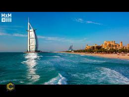 Dubái y sus excentricidades: la cancha de tenis submarina que aspira ser la sensación
