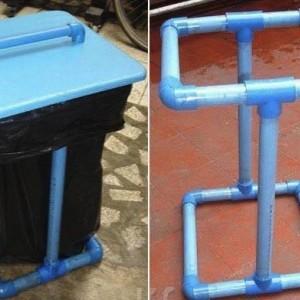 Todo lo que puedes hacer con tubos de PVC para el hogar