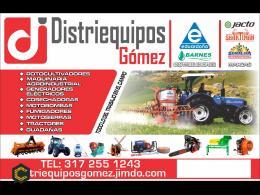 Venta de maquinaria agro industrial, moto-bombas, sistemas de presión motores etc.