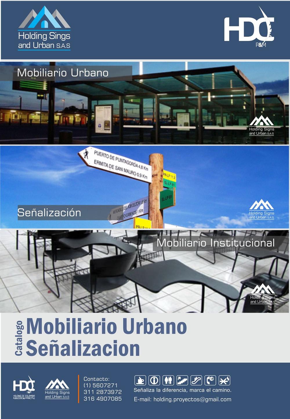 Mobiliario urbano & Señalizacion