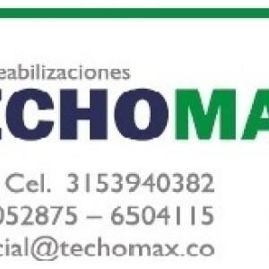 Techomax su opcion en impermeabilizacion