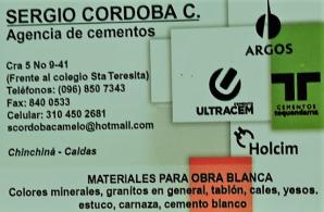 Agencia de Cementos - Comercializadora Valentina