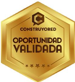 Oportunidad Verificada - Construyored