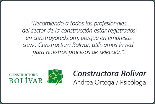 Testimonio Constructora Bolivar - Construyored
