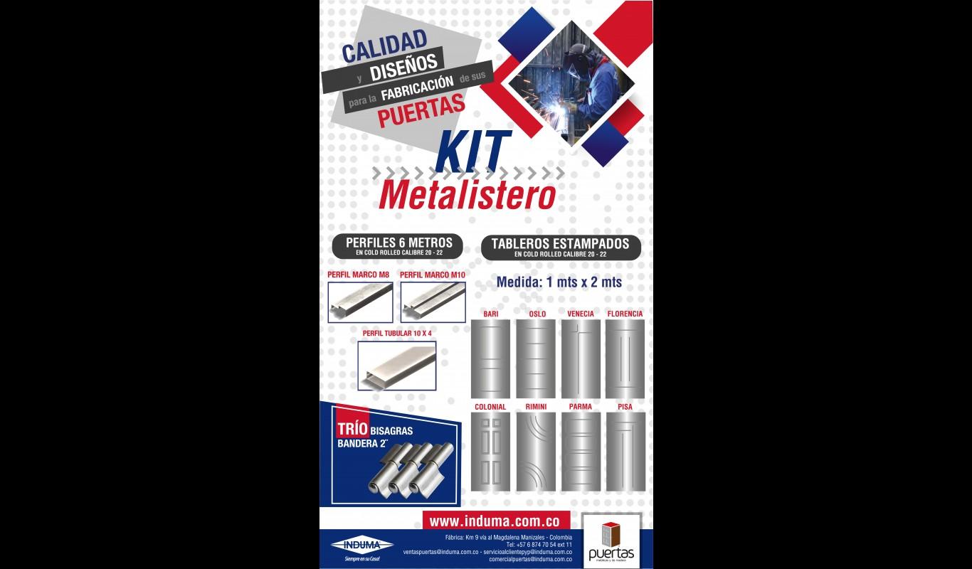 Kit metalistero