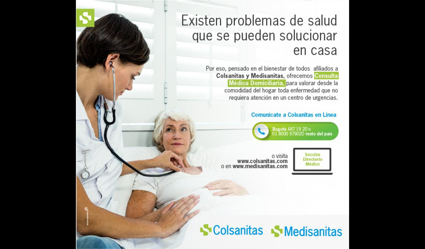 Consulta médica domiciliaría
