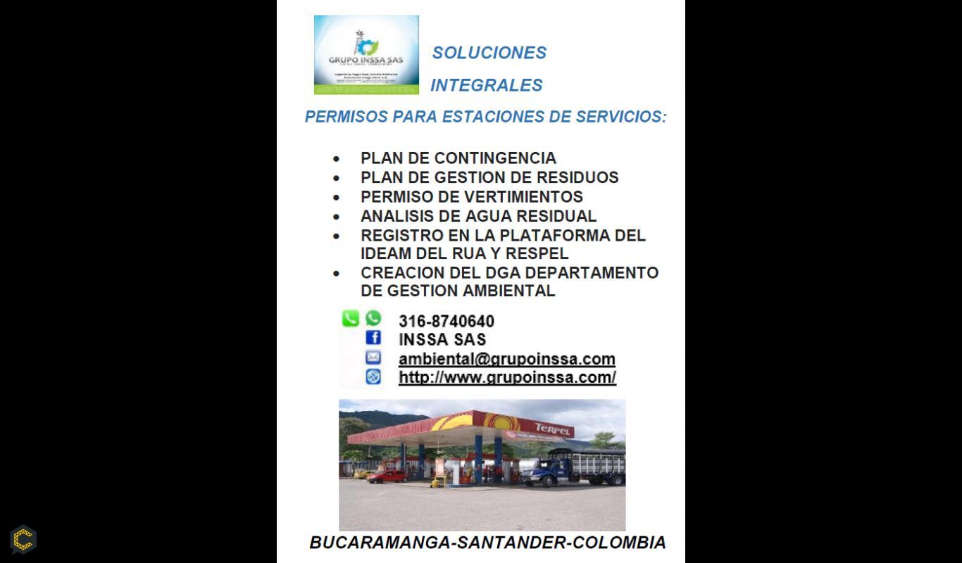 PERMISOS AMBIENTALES PARA ESTACIONES DE SERVICIOS EDS