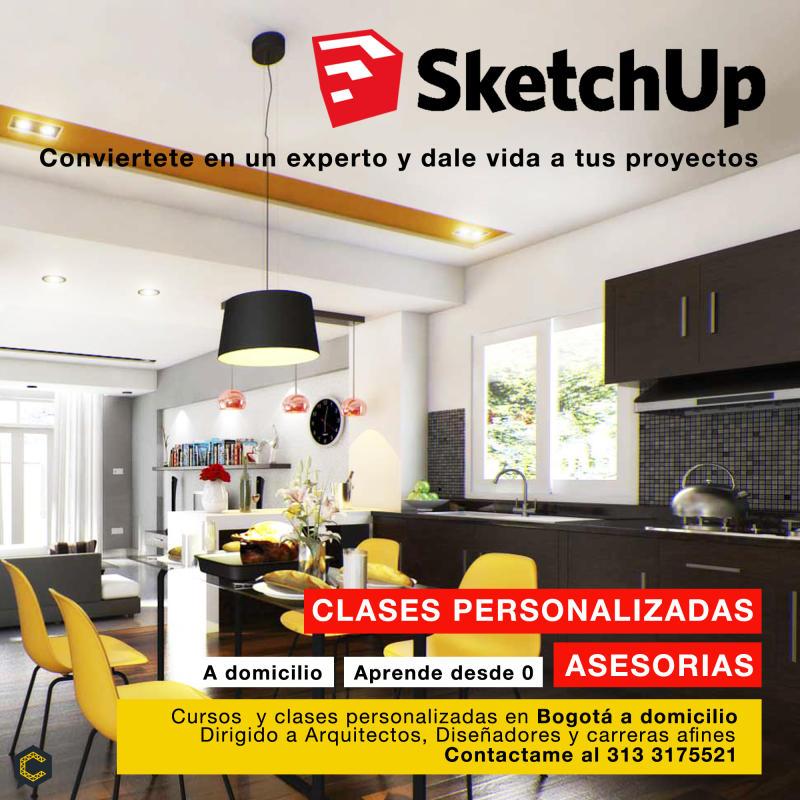 Asesorias y Clases Personalizadas Sketchup + Vray