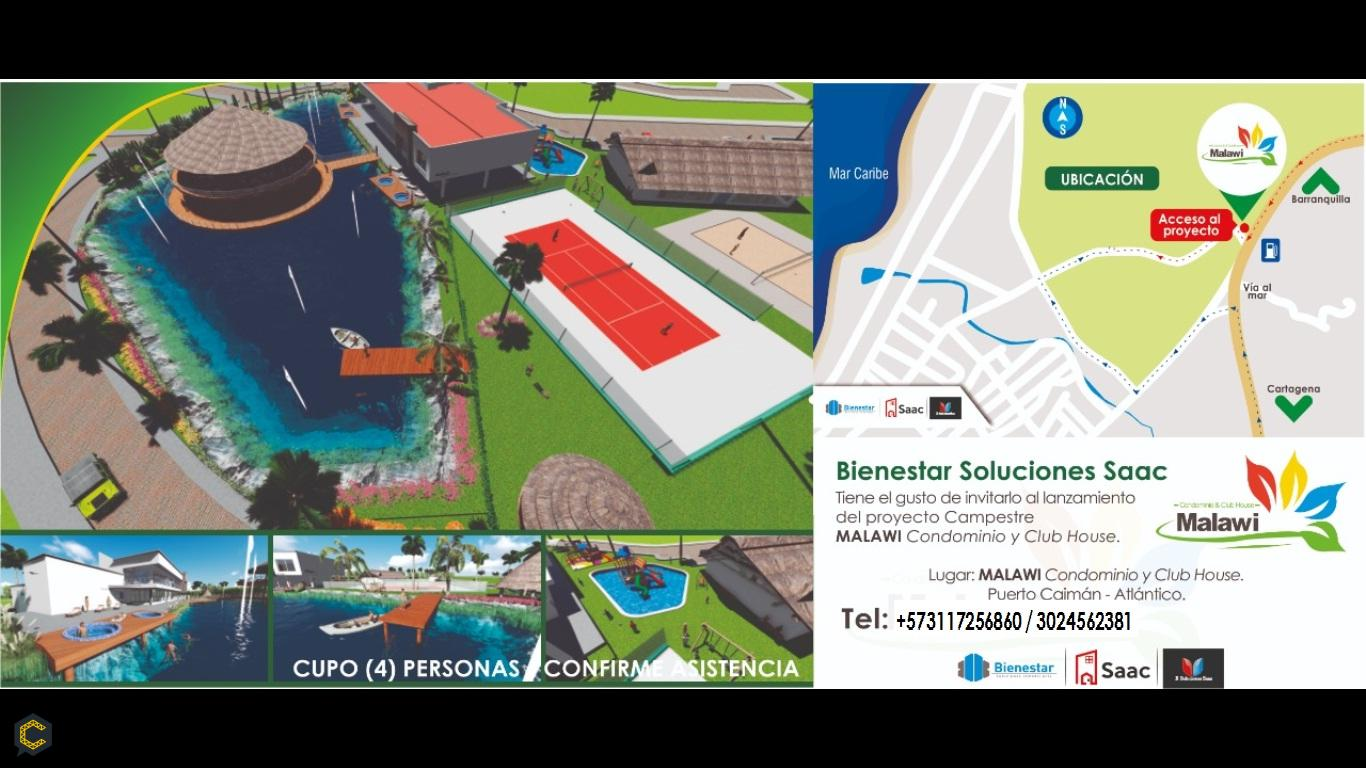 Lanzamiento de MALAWI CONDOMINIO Y CLUB HAUSE en Barranquilla.
