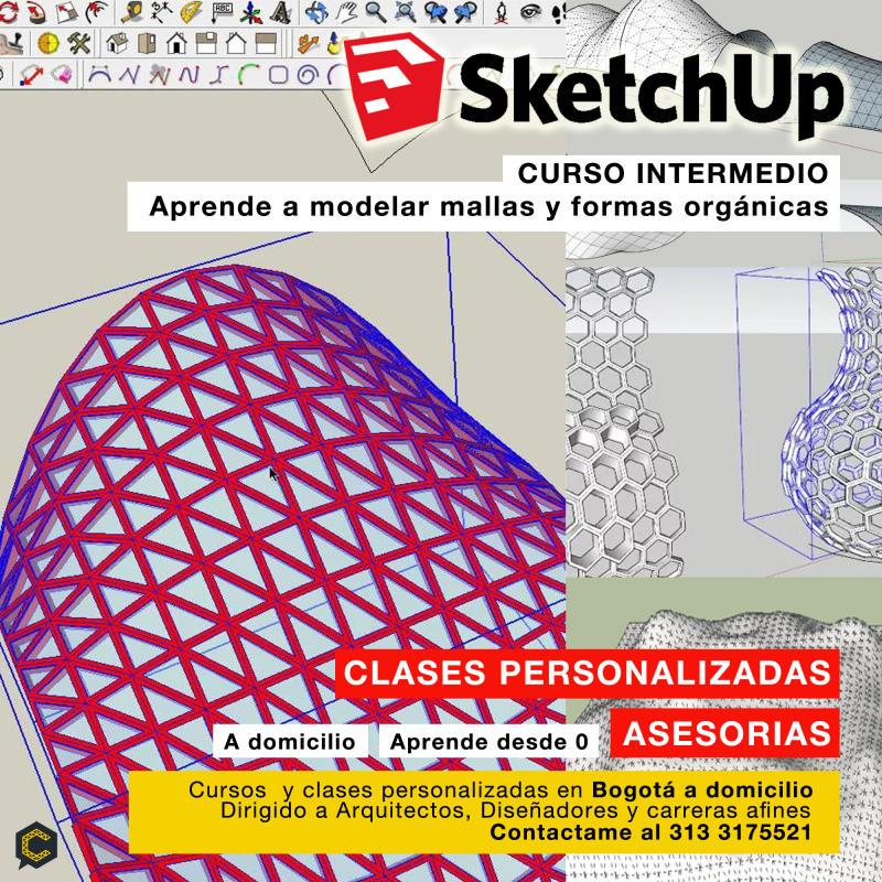 Modelado Orgánico con Sketchup
