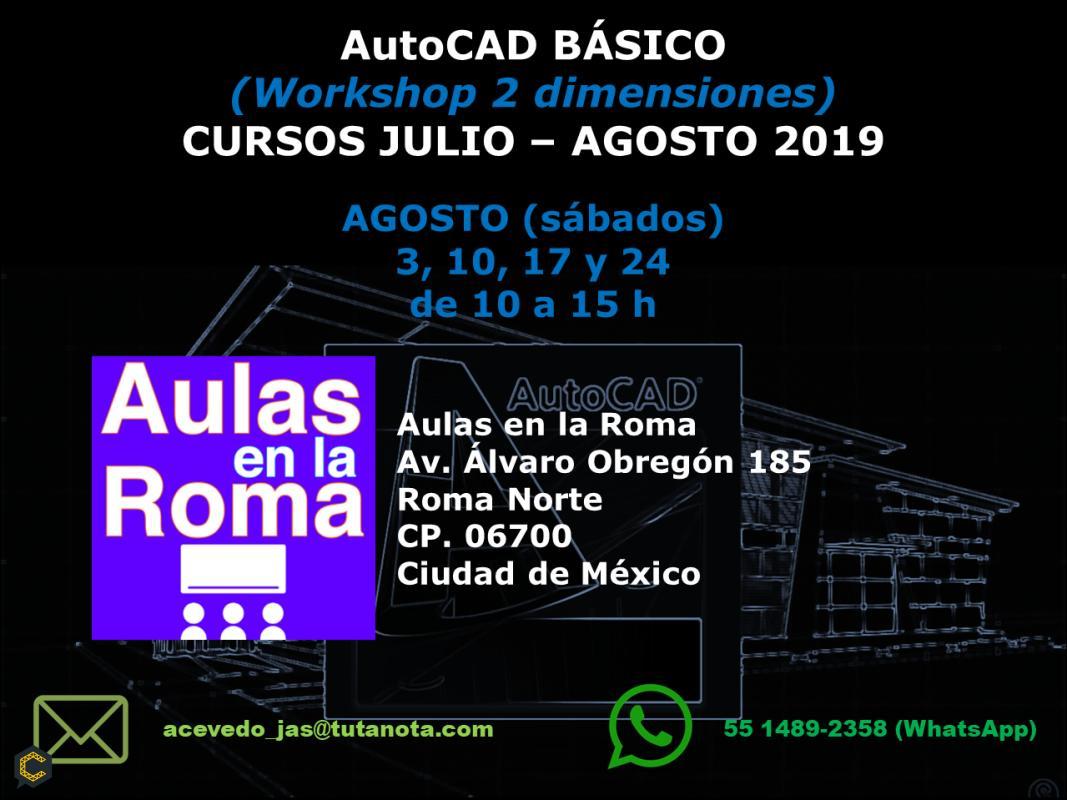 AutoCAD básico (workshop 2 dimensiones)