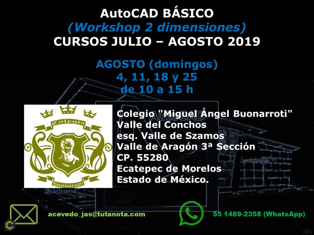 AutoCAD básico (workshop 2 dimensiones)
