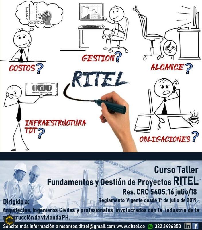 Curso Taller CUMPLIMIENTO RITEL para Arquitectos e Ingenieros Civiles