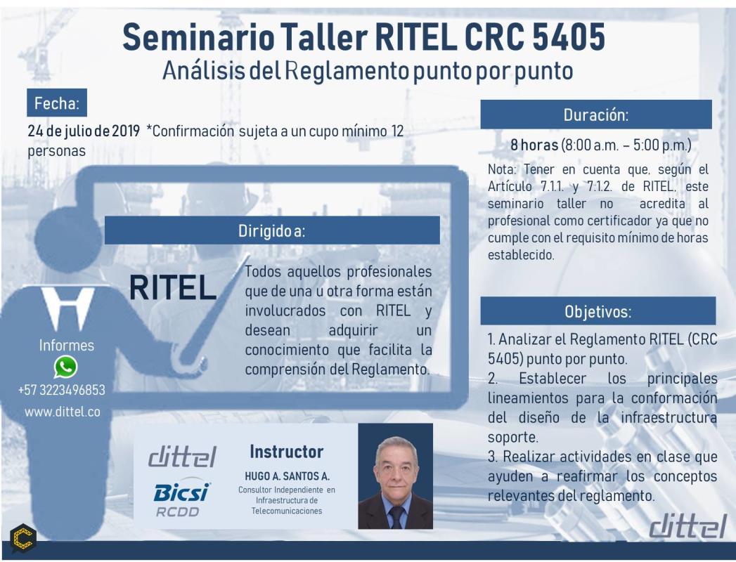 Seminario Taller Análisis Punto por Punto RITEL CRC *****