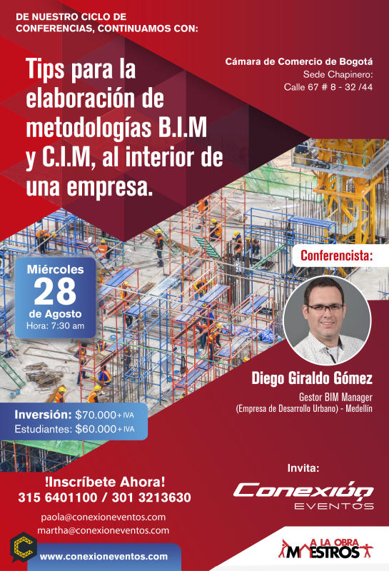 Tips para la elaboración de metodologías BIM y CIM al interior de una empresa