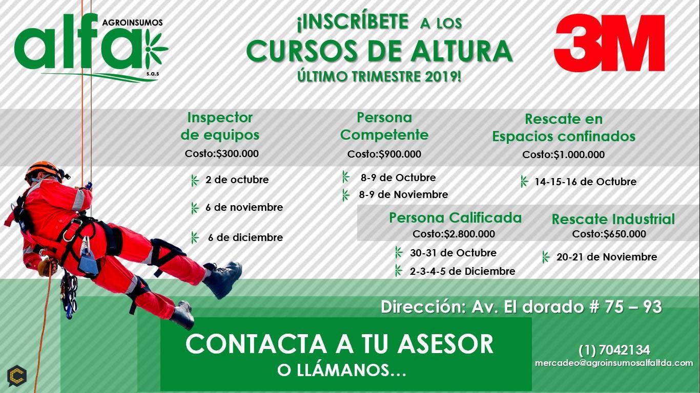 CURSOS DE ALTURAS