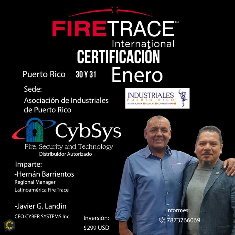 FireTrace training and certification