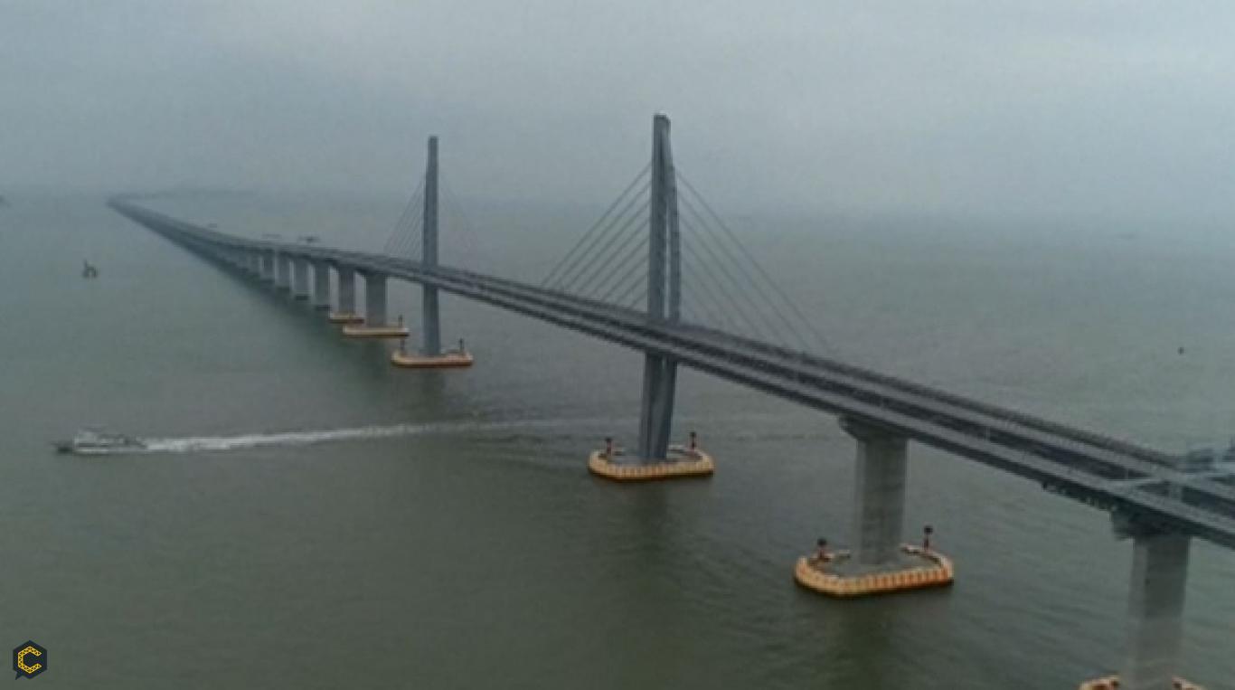 Ahora el puente más extenso del mundo está en China y se llama Hong Kong-Zhuhai-Macao