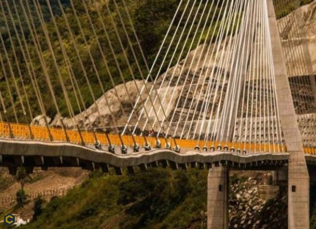 El Hisgaura, el particular puente colombiano con arrugas y ondas que preocupa al país