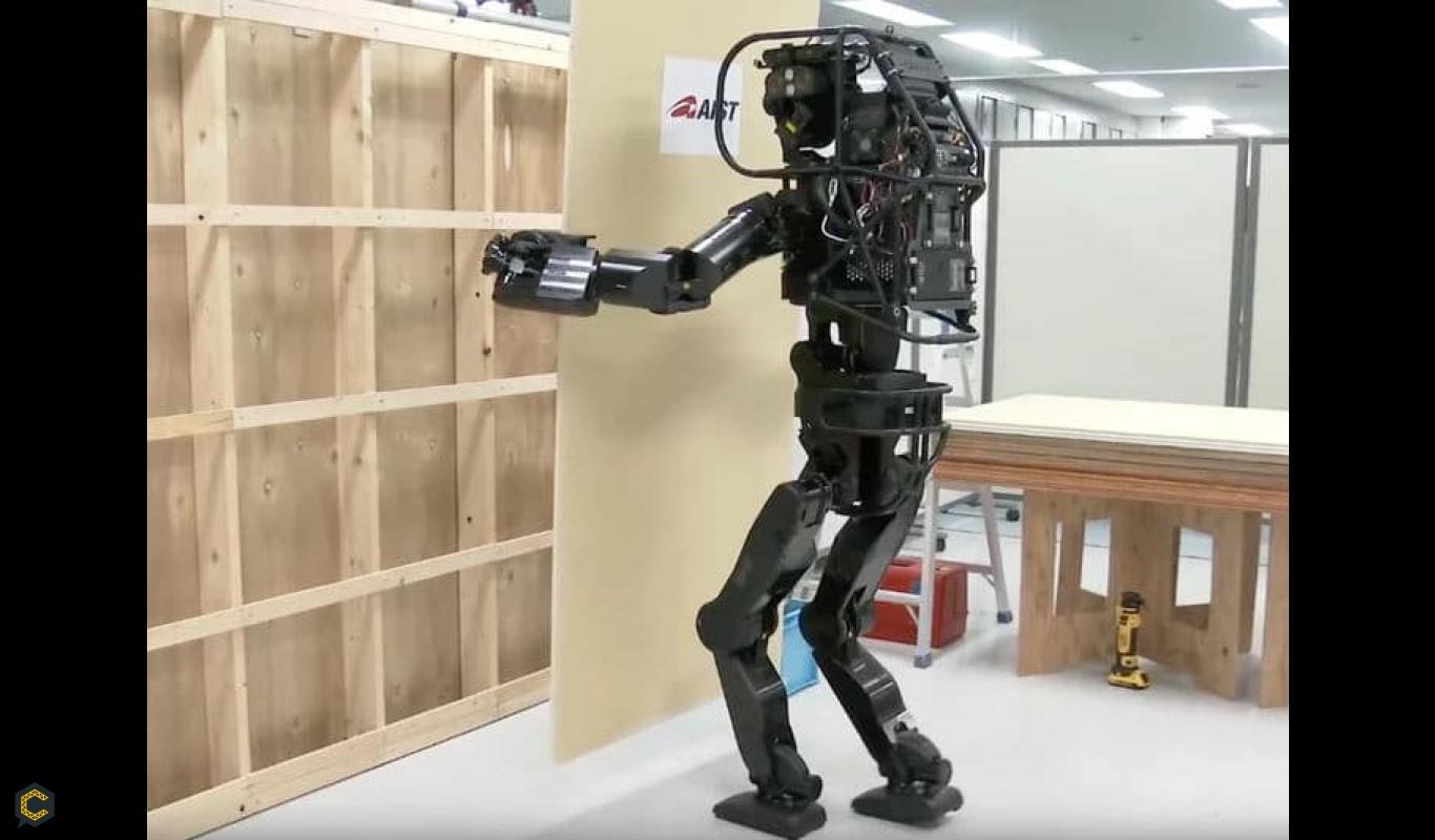 Conozca el robot que instala paneles de yeso por si mismo