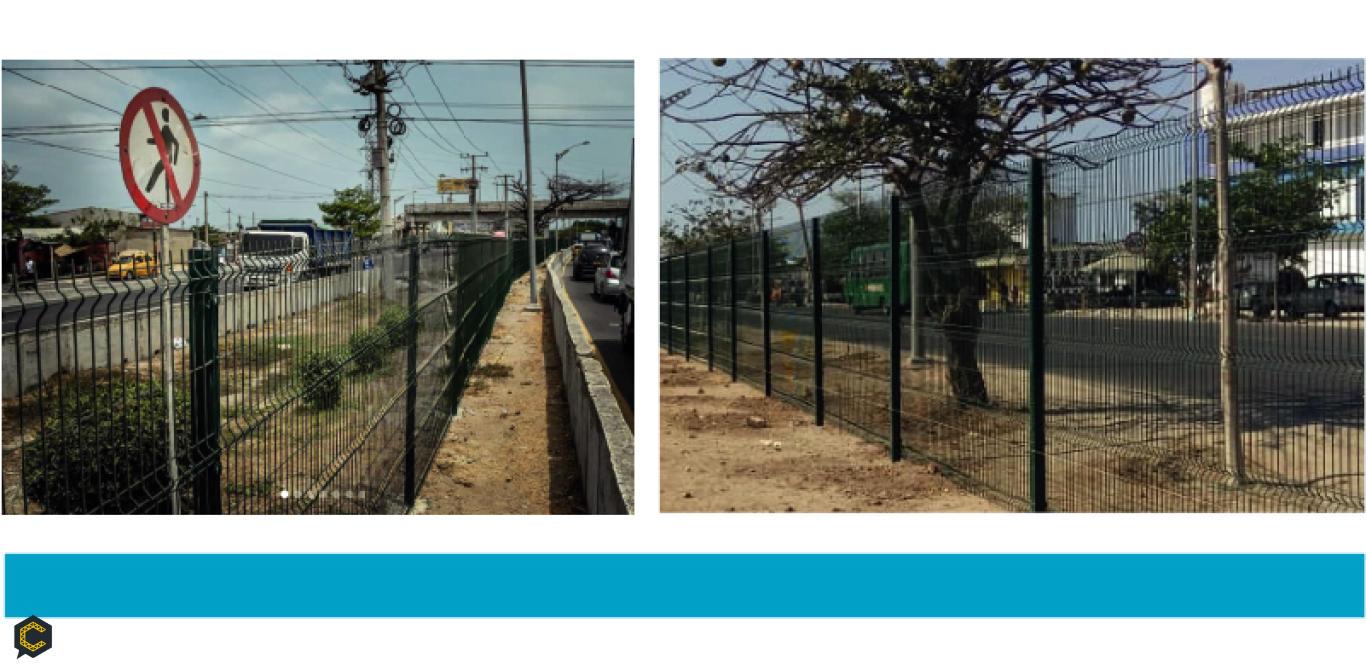 Cercas Pro®️ de Proalco Bekaert como solución de barreras peatonales para disminuir la accidentalidad en Barranquilla