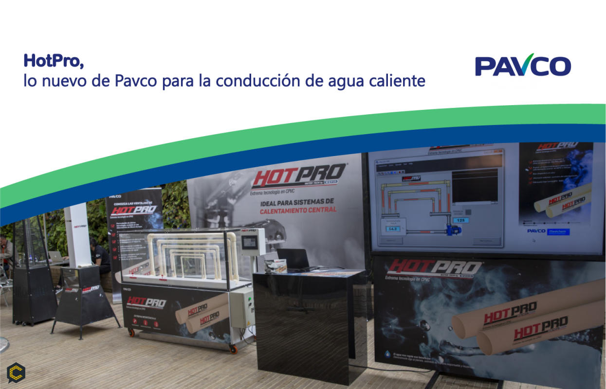HotPro, Lo nuevo de Pavco para la conducción de agua caliente