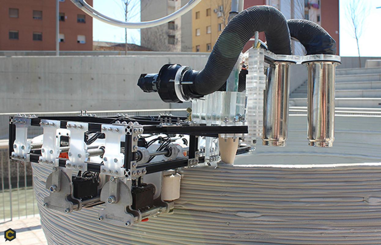 Gracias a las impresoras 3D construir con techos livianos y ecológicos es posible