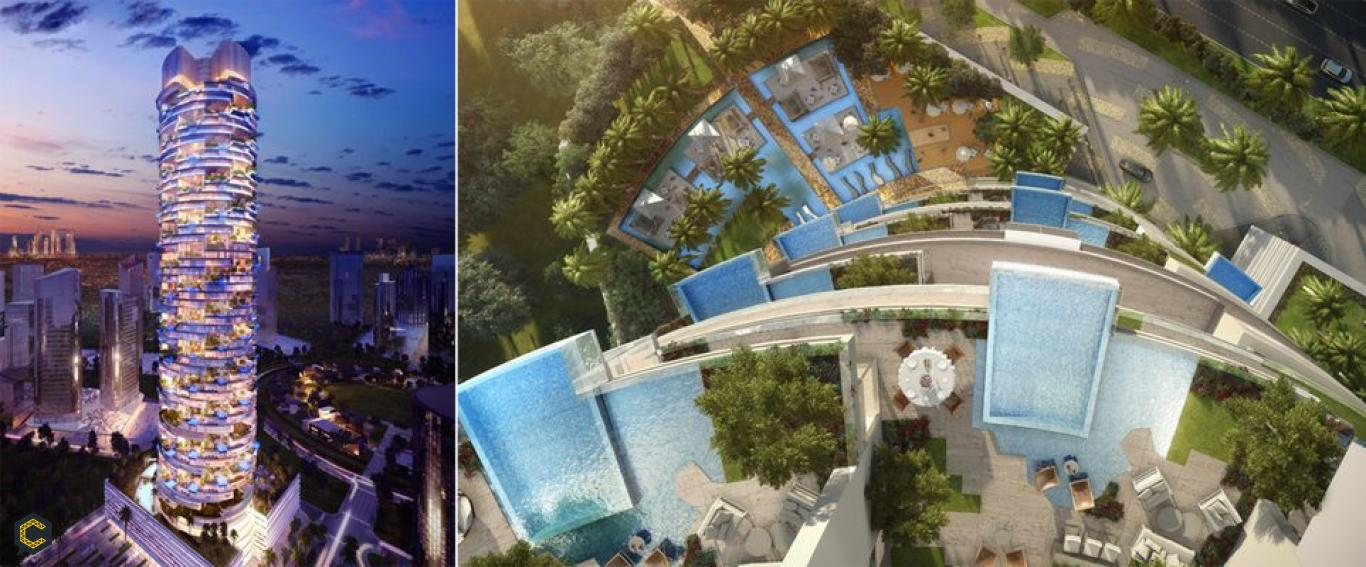El futurista Hotel FIVE Jumeirah Village Dubai, por fin abre sus puertas