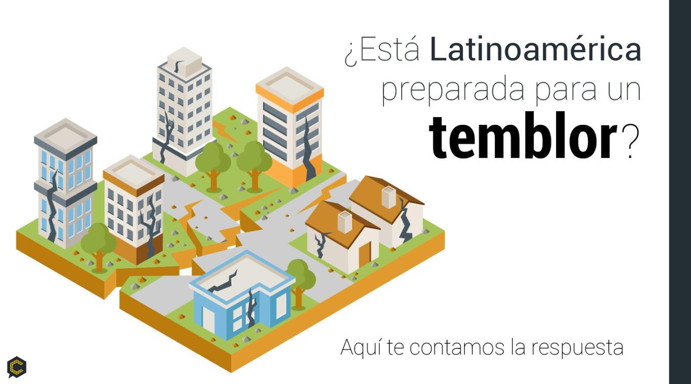 ¿Está Latinoamérica preparada para un temblor? Aquí te contamos la respuesta