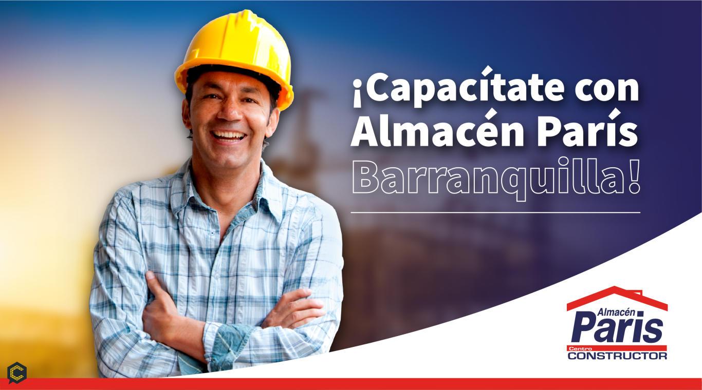 Capacítate sobre el manejo del sistema seco Glyplac en la construcción con Almacén París.