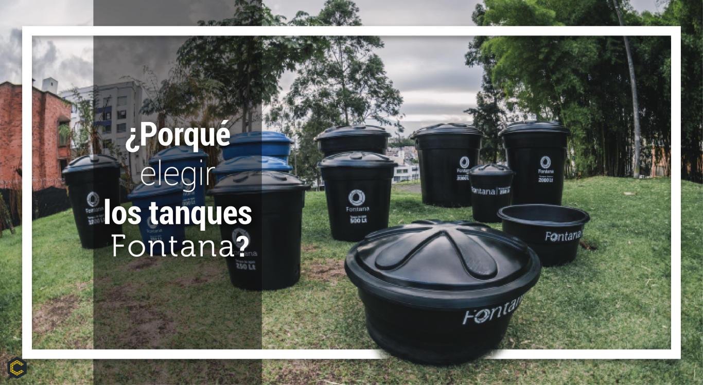 Ya conoces los tanques de almacemiento Fontana