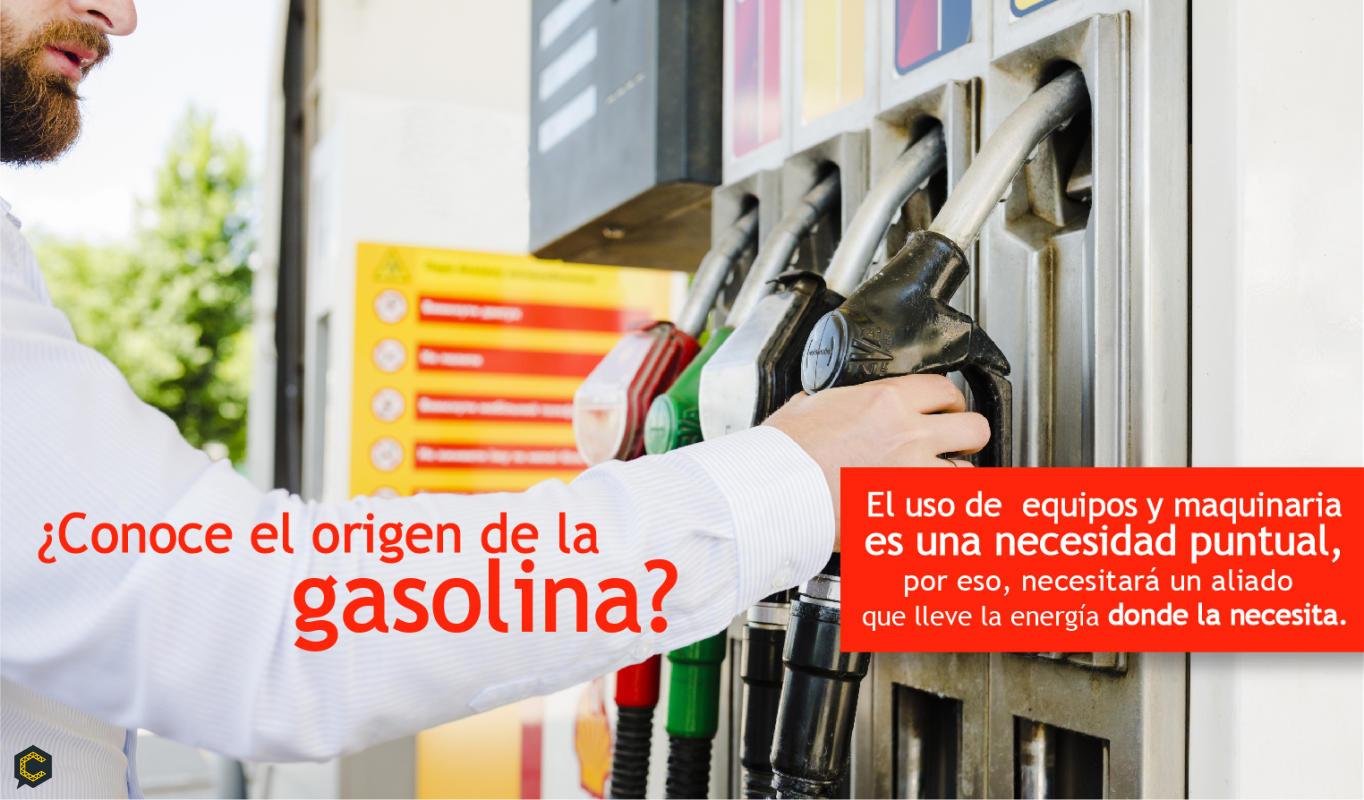 ¿Conoce el origen de la palabra gasolina?