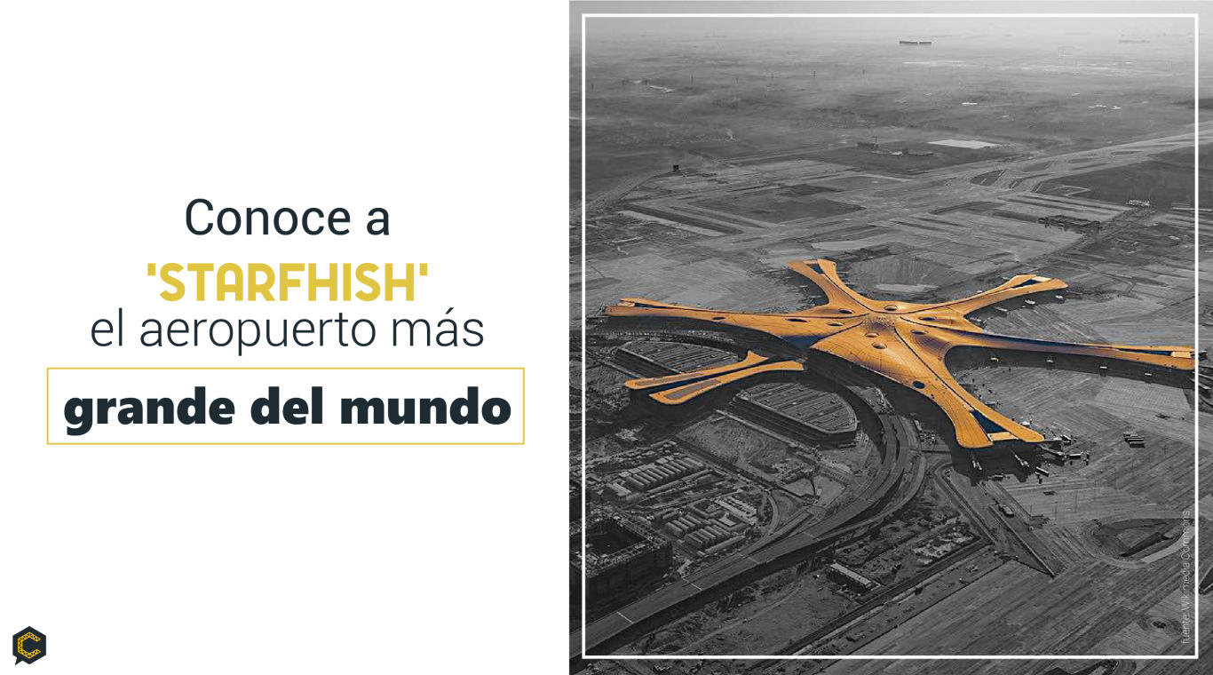 Conoce el aeropuerto más grande del mundo.