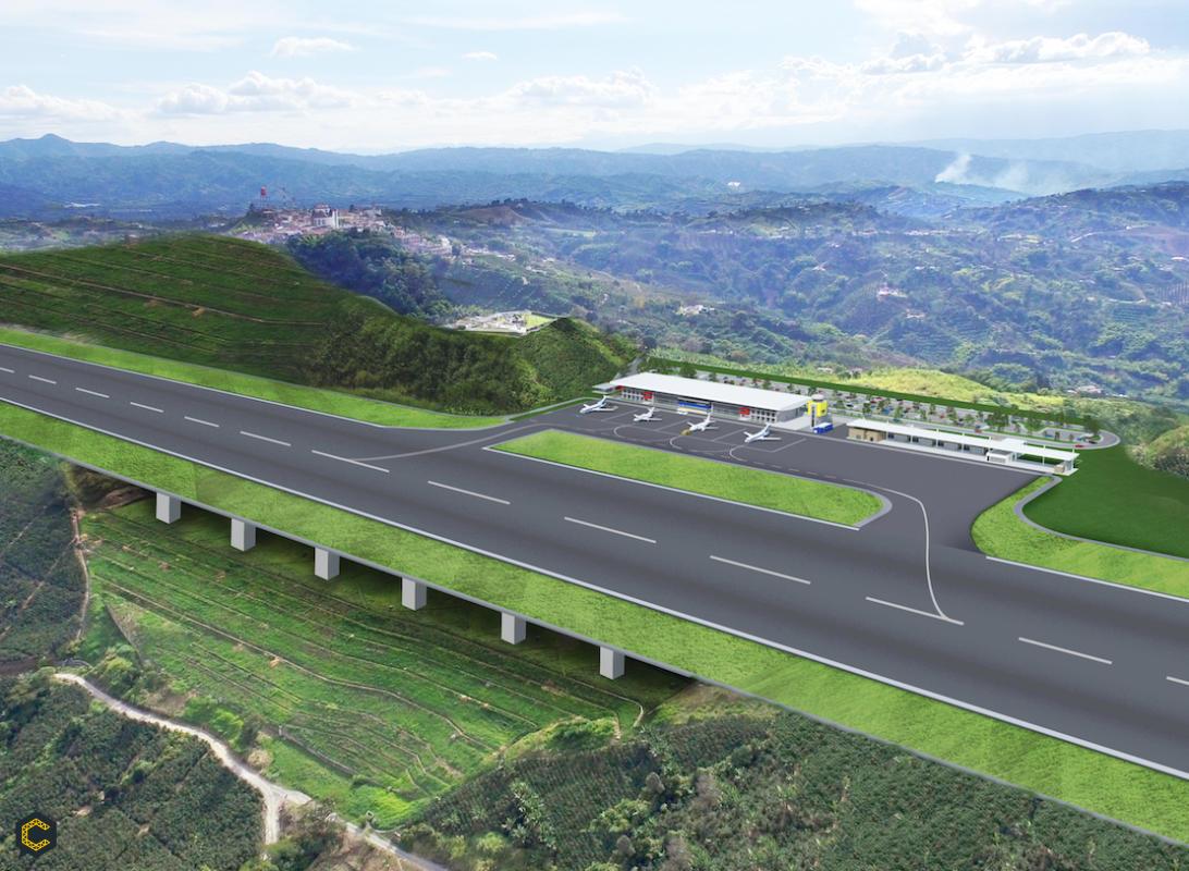 20 de julio de 2020 apertura de licitación publica para Aeropuerto del Café
