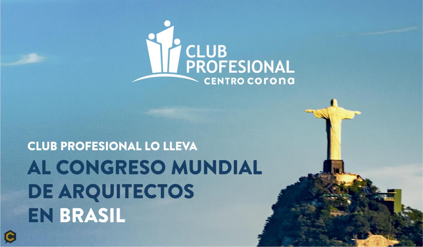 Participa por una entrada al congreso mundial de arquitectos en Brasil