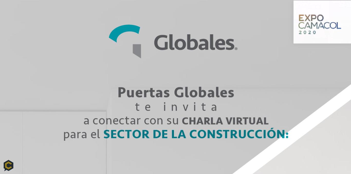 Puertas Globales presente en Expocamacol