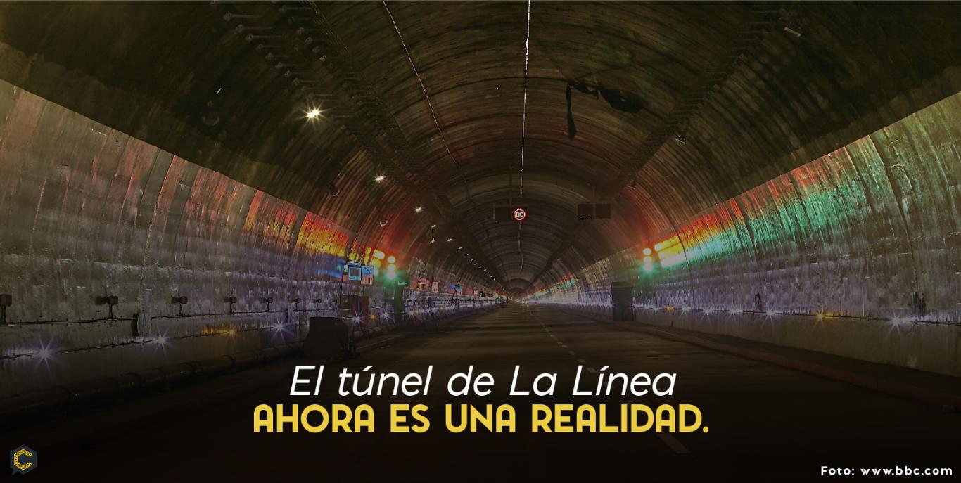 Inauguran el túnel de La Línea, el más largo de Latinoamérica.