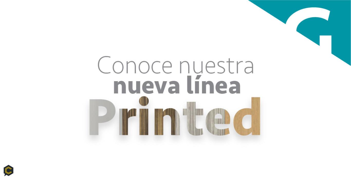 ¡Precio de lanzamiento! Conoce nuestra nueva línea Printed y renueva tus espacios.