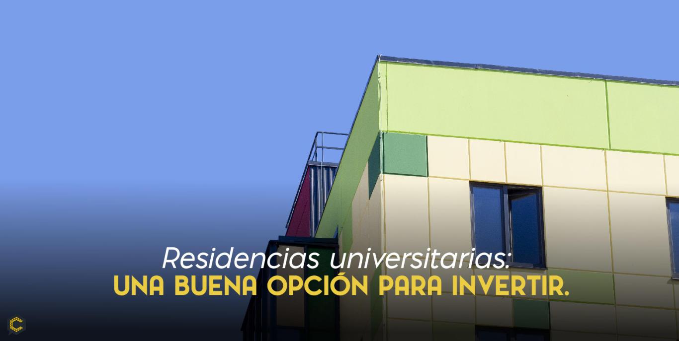 Residencias universitarias: una buena opción para invertir.