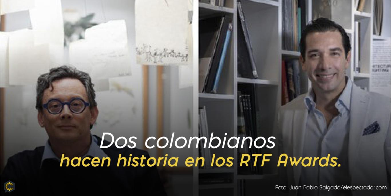 Ricardo de Castro y Giancarlo Mazzanti: los primeros colombianos en ganar los RTF Awards.
