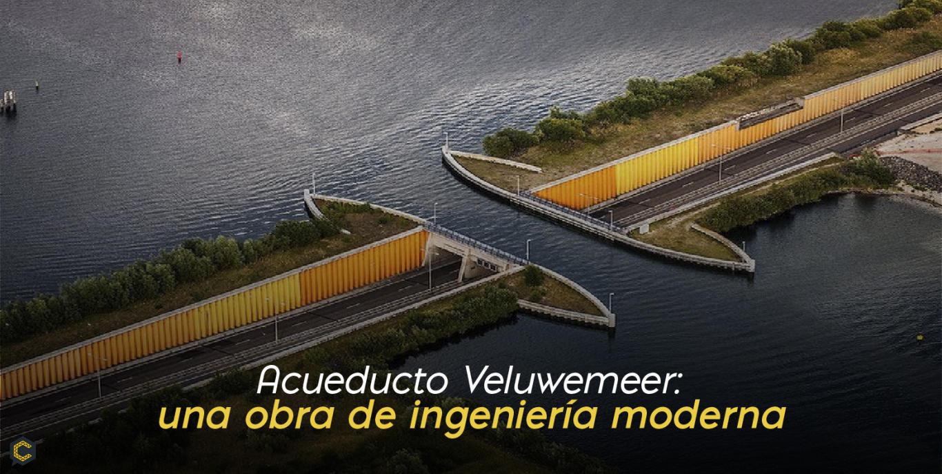 Acueducto Veluwemeer: una obra de ingeniería moderna