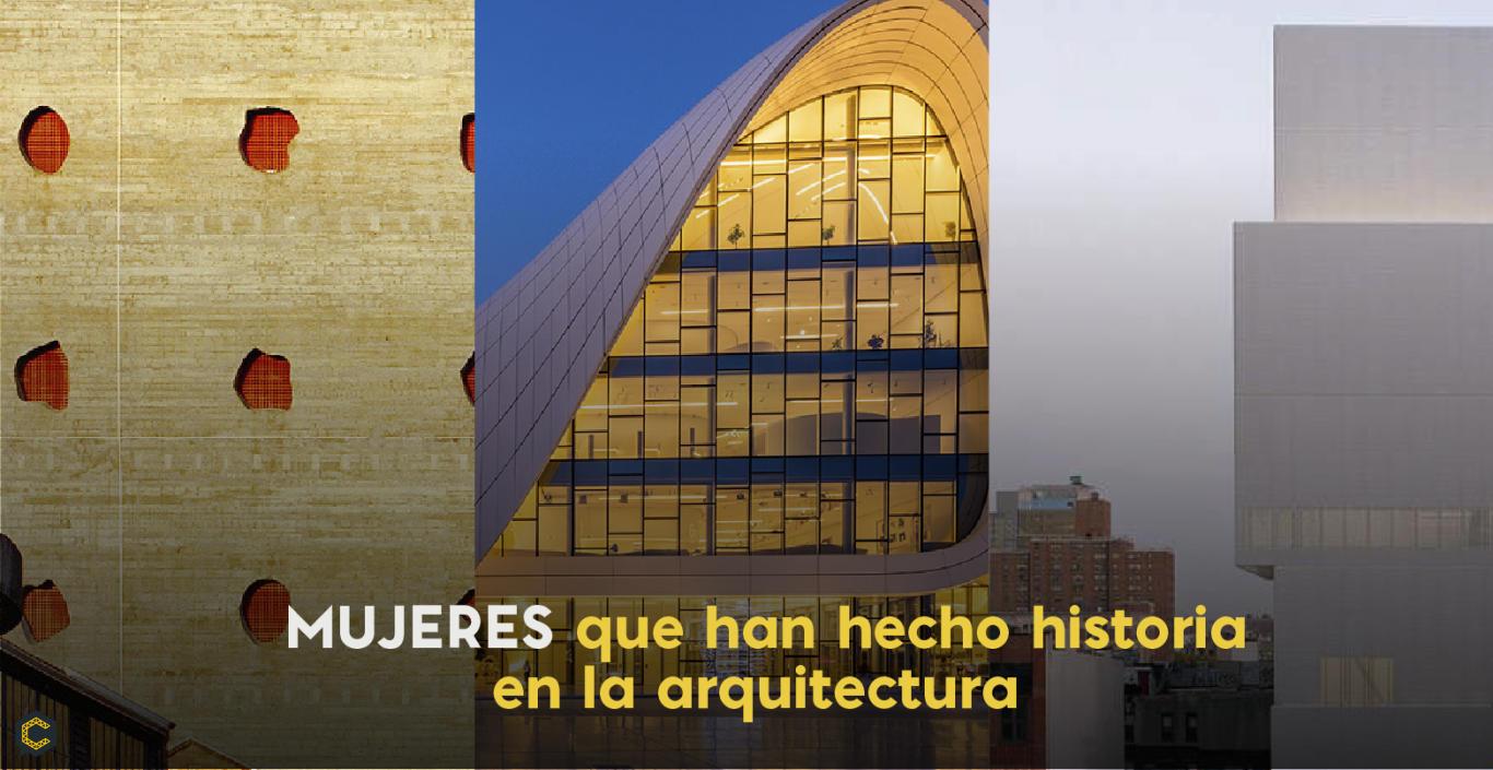 Mujeres que han hecho historia en la arquitectura